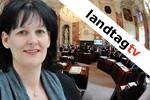Andrea Haselwanter-Schneider im FritzTV