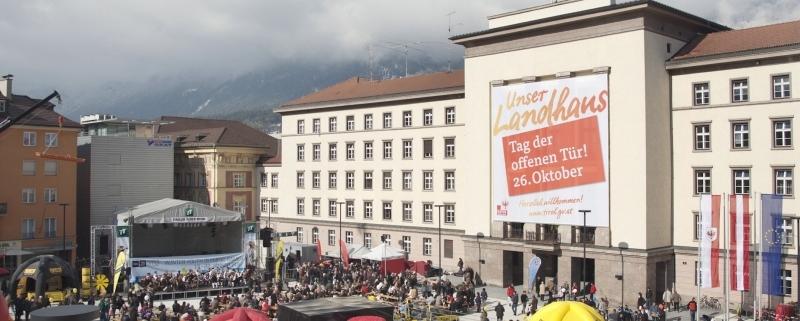 Tag der offenen Tür im Tiroler Landhaus
