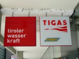 TIWAG und TIGAS