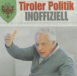 Fritz Dinkhauser im Interview mit der Kronen Zeitung