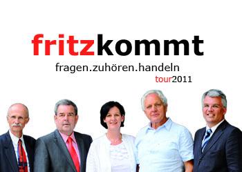 Fritzkommt Tour 2011
