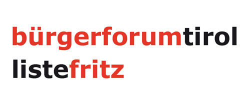 Bürgerforum Tirol - Liste Fritz Logo