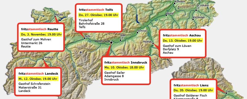 Fritzstammtisch Termin