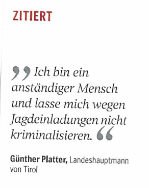 Kleine Zeitung Platter Jagd