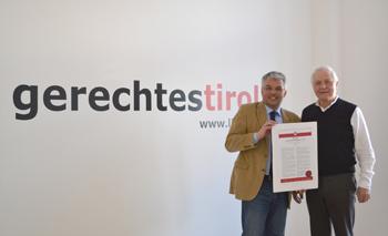 Bernhard Ernst und Fritz Dinkhauser
