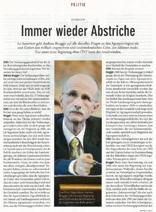 Echo-Interview mit Liste Fritz Landtagsabgeordneten Andreas Brugger