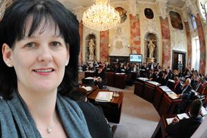 Andrea Haselwanter-Schneider und der Tiroler Landtag