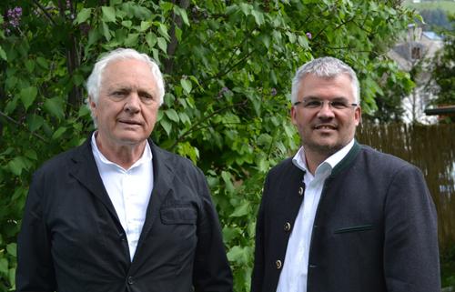 Fritz Dinkhauser und Bernhard Ernst