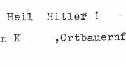 Altes Dokument aus der Nazi-Zeit