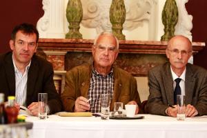 Georg Willi, Ulrich Stern und Andreas Brugger
