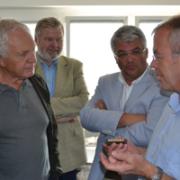 Das Team der Liste Fritz auf Bezirkstour in Innsbruck Land