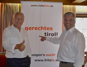Die Liste Fritz auf Tour im Bezirk Kufstein