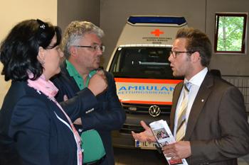 Das Team der Liste Fritz auf Tour im Bezirk Schwaz