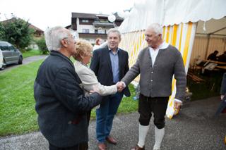 Frühschoppen mit Fritz Dinkhauser