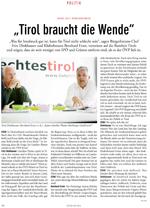 Echo Bericht zur Kandidatur der Liste Fritz bei der Landtagswahl 2013