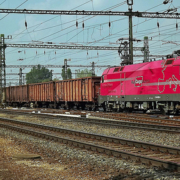 Zug des Rail Cargo