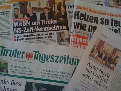 Mediale Berichte zum Agrarunrecht in Tirol