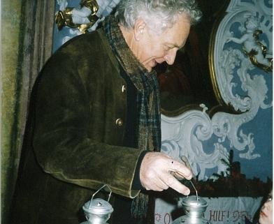 Fritz Dinkhauser zu Weihnachten