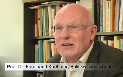 Prof. Dr. Ferdinand Karlhofer