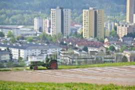 Ein Traktor
