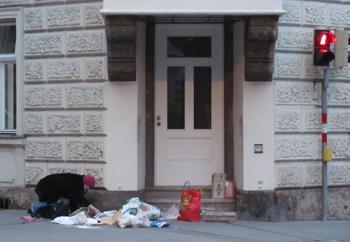 Armut in Innsbruck