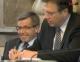 Steixner und Platter während der Aktuellen Stunde im Tiroler Landtag