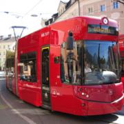 Die Tram in Innsbruck