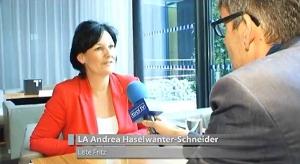 Andrea Haselwanter-Schneider im Gespräch mit Tirol TV