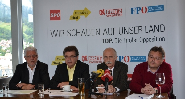 Die Tiroler Opposition