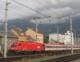 Der Regionalexpress von Innsbruck nach Lienz am Innsbrucker Hauptbahnhof