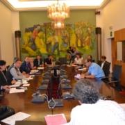 Pressetermin von Südtiroler und Tiroler Vertretern zum Direktzug Lienz-Innsbruck