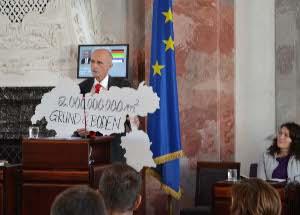 Andreas Brugger bei seiner Rede im Tiroler Landtag
