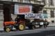 Fritz Dinkhauser mit einer Protestaktion gegen das Agrarunrecht