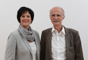 Andrea Haselwanter-Schneider und Andreas Brugger von der Liste Fritz