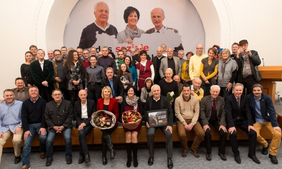 Ein Gruppenfoto vom Bürgertag der Liste Fritz 2013