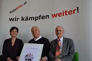 Die Pressekonferenz zum Bürgertag 2013 der Liste Fritz