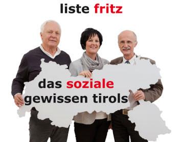 Dinkhauser, Haselwanter-Schneider und Brugger am Bürgertag der Liste Fritz