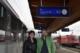 Andrea Haselwanter-Schneider und Markus Sint vor dem Direktzug Lienz-Innsbruck