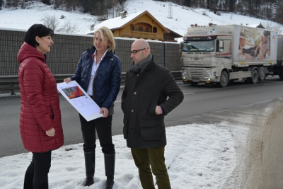 Lokalaugenschein zum Lärmschutz in Söll