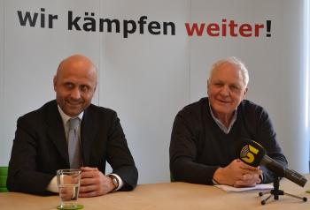Die Pressekonferenz mit Fritz Dinkhauser zum eingestellten Verfahren