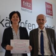 Die Landtagsabgeordneten der Liste Fritz fordern eine Garantier für die Gratis-Zahnspange