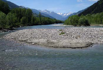 Die Isel in Osttirol