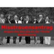 Die Liste Fritz fordert einen Misstrauensantrag gegen die Landesregierung