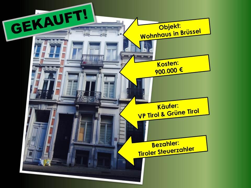 Das gekaufte Haus in Brüssel mit allen Fakten rund um den Deal