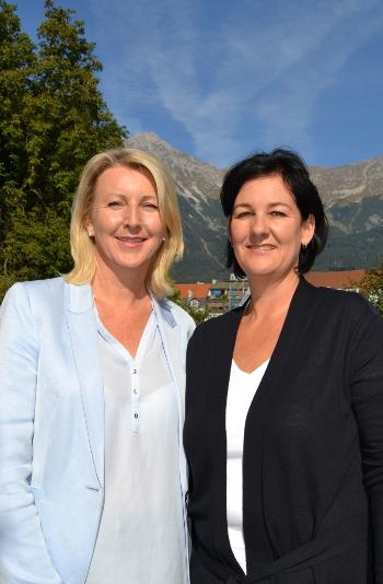 Fritz-Landtagsabgeordnete Isabella Gruber und Andrea Haselwanter-Schneider