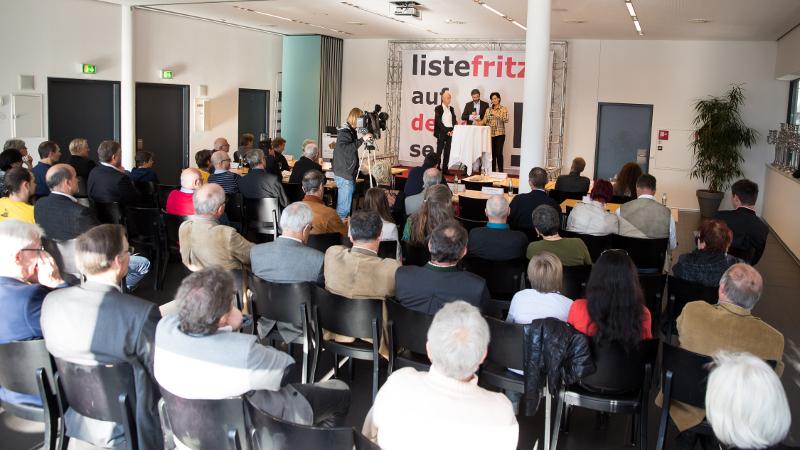 Foto vom Bürgertag 2014 der Liste Fritz