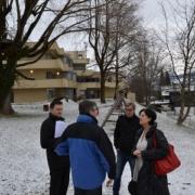 Lokalaugenschein beim Kinderheim Jugendland in Arzl