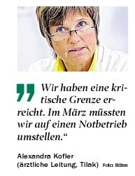 Zitat von Alexandra Kofler in der Tiroler Tageszeitung