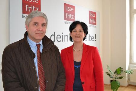 Dr. Maximilian Ledochowski und Andrea Haselwanter-Schneider