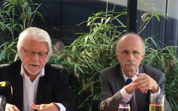 Pressekonferenz zum Demokratiepaket der Liste Fritz